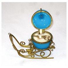 Palais Royal Etui Opaline Sleigh Sewing Set