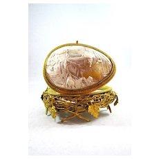 Palais Royal Cameo Nest Egg.