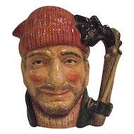 Royal Doulton Lumberjack Large Toby Mug Jug D6610