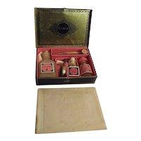 1930s Cutex Five Minute Set Complete in Tin Box Nail Care Polish Art Deco