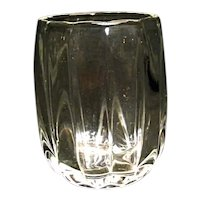 Vintage Heisey Crystolite 9 Oz Barrel Shape Tumbler Flat Bottom More Avail