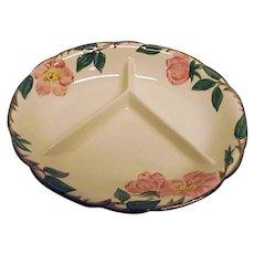 Franciscan Desert Rose Child's Dinner Feeding Dish 3 Part USA