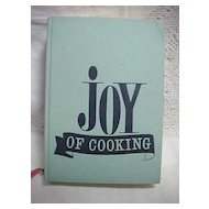 1967 Joy of Cooking Cookbook Rombauer Becker