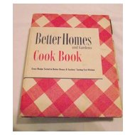 Better Homes and Gardens Cook Book 1949 5 Ring Binder