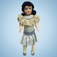 """Antique S&H Simon & Halbig 1159 19"""" Doll Bisque Head Jointed Comp Body"""