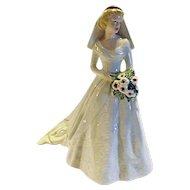 "BEAUTIFUL BRIDE Goebel W Germany ""Forever And Always 1949"" Porcelain Figurine Wedding"
