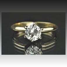 .95 Carat Diamond Solitaire Engagement Ring
