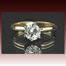 .95 Carat Diamond Solitaire Engagement Ring