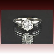 1.05 Carat Diamond Solitaire Engagement Ring