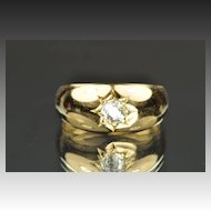 .43 Carat Old Mine Cut Diamond Band