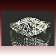 .60 Carat Transitional Cut Diamond Wedding Ring