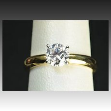 .70 Carat Solitaire Diamond Engagement Ring / EGL Certified