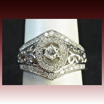 1 Carat Diamond Wedding Ring / Band