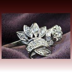 .67 Carat Diamond Art Deco Ring