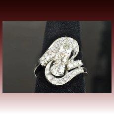 2.37 Carat Art Deco Diamond Ring / CLEARANCE SALE!!