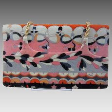 Emilio Pucci Vintage Velvet Purse or Handbag