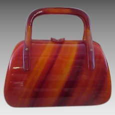 Vintage Small Lucite Purse
