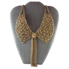 Napier Signed Vintage Large Necklace