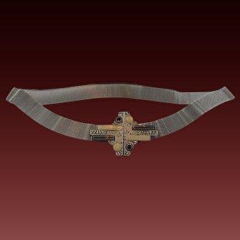 Deco Mesh Belt and Buckle
