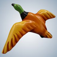 Bakelite Resin Washed Flying Duck Pin