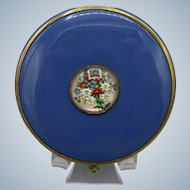 Mary Dunhill Vintage Enamel Powder Compact