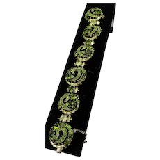 Hollycraft Vintage Rhinestone Bracelet