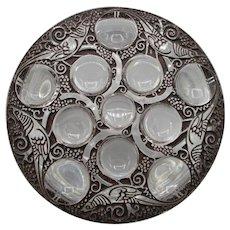 Lalique Powder or Vanity Jar - Roger