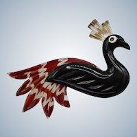 Bakelite and Lucite Figural Bird