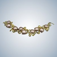 Vintage Schiaparelli Signed Bracelet