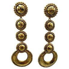 Gorgeous Chanel Long Dangle Earrings
