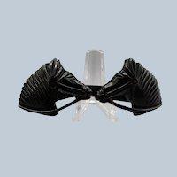 Bakelite Figural Horse Head Pin Scarf Pin