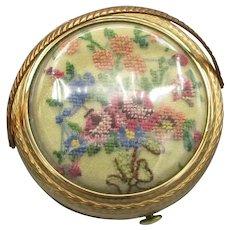 Vintage Kigu Flower Basket Compact