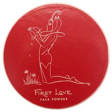 First Love Figural Face Powder Box