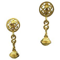 Original Chanel Dangling Earrings