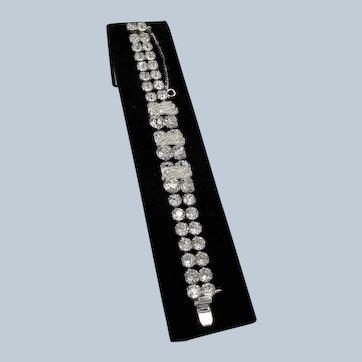 Stunning Eisenberg Rhinestone Bracelet