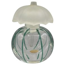 Vintage Czech. Small Perfume Bottle