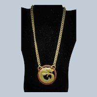 Fabulous Vintage Lucien Piccard Figural Necklace