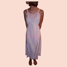 Vintage 1940 Miss Swank Full Slip Pink Bur-Mil NY-RON NEW NWT NOS Size 32