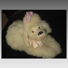 ON HOLD 1963 Merrythought Poodle Pyjama Pajama Lingerie Case