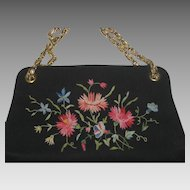 Vintage Tambour Embroidered Koret Purse-Never Used