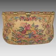 C. 1930's French Petit Point Michel Swiss Paris Purse