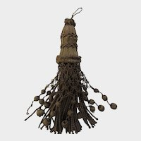 C. 20's French Gold Metallic Tassel with Balls & Mesh