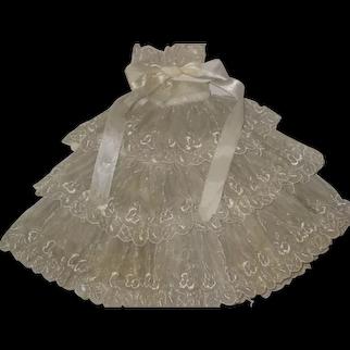 Vintage Doll Skirt