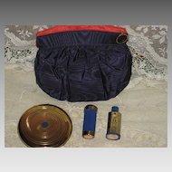 Vintage 4 Piece Coty Set-Compact, Lipstick, Perfume & Pouch