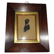 1840 James Holmes the Elder framed Silhouette