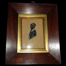 1840 James Holmes the Elder framed Silhouette