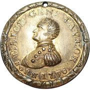 1848 Major Gen Zachary Taylor Born 1790 Token/Medal/Pendant