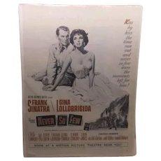 "Movie Poster - Frank Sinatra ""Never So Few"" 1959"