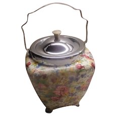 Chintz by Midwinter Biscuit Barrel