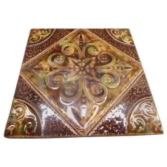 Tile Antique Majolica Arts & Crafts